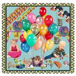 Jetzt Kindergeburtstags Dekoration und Partysets bestellen!